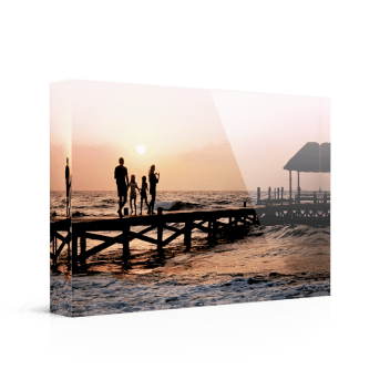Foto op plexiglas - Acrylblok