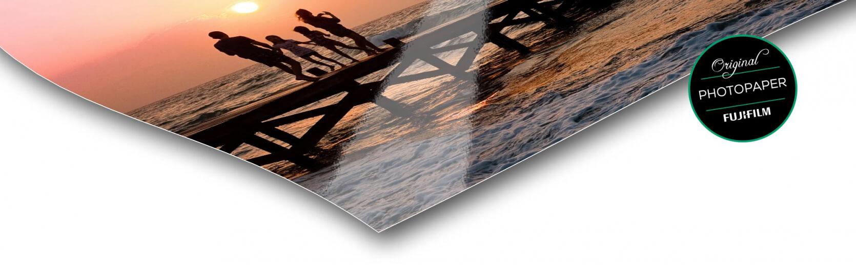 Fotopapier foto op acrylblok