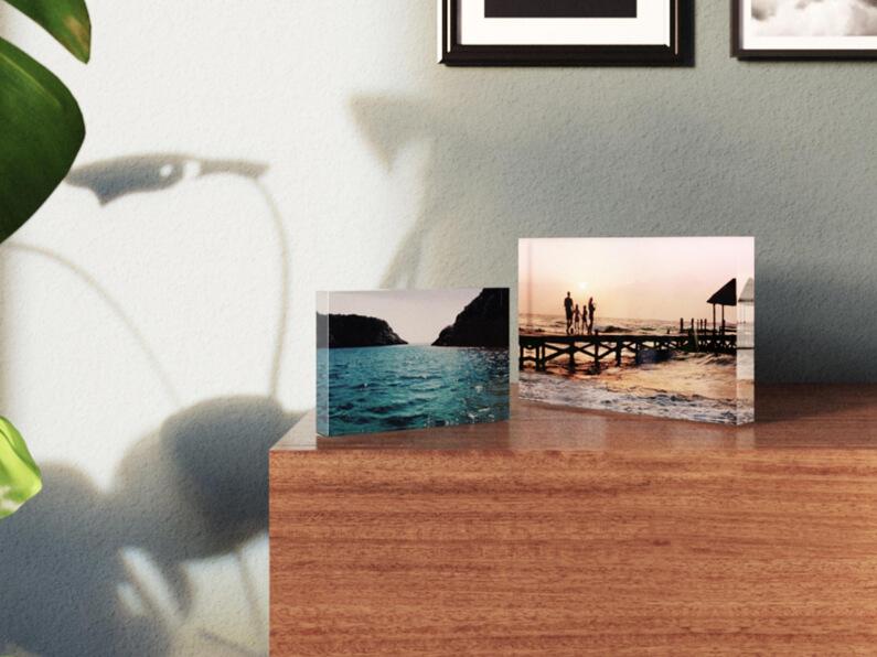 Foto op acrylblok - formaten