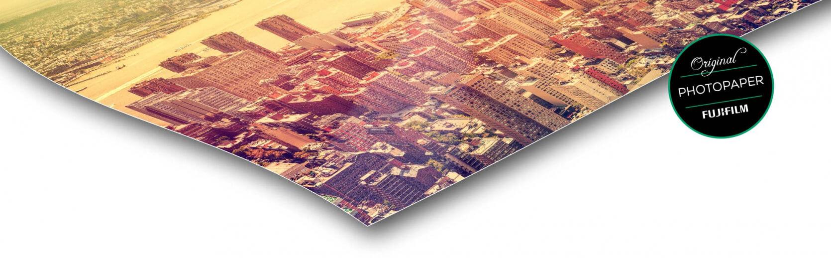 fotopapier foto op plexiglas antie reflex / mat