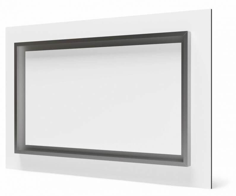 ophangframe foto op plexiglas anti reflex / mat