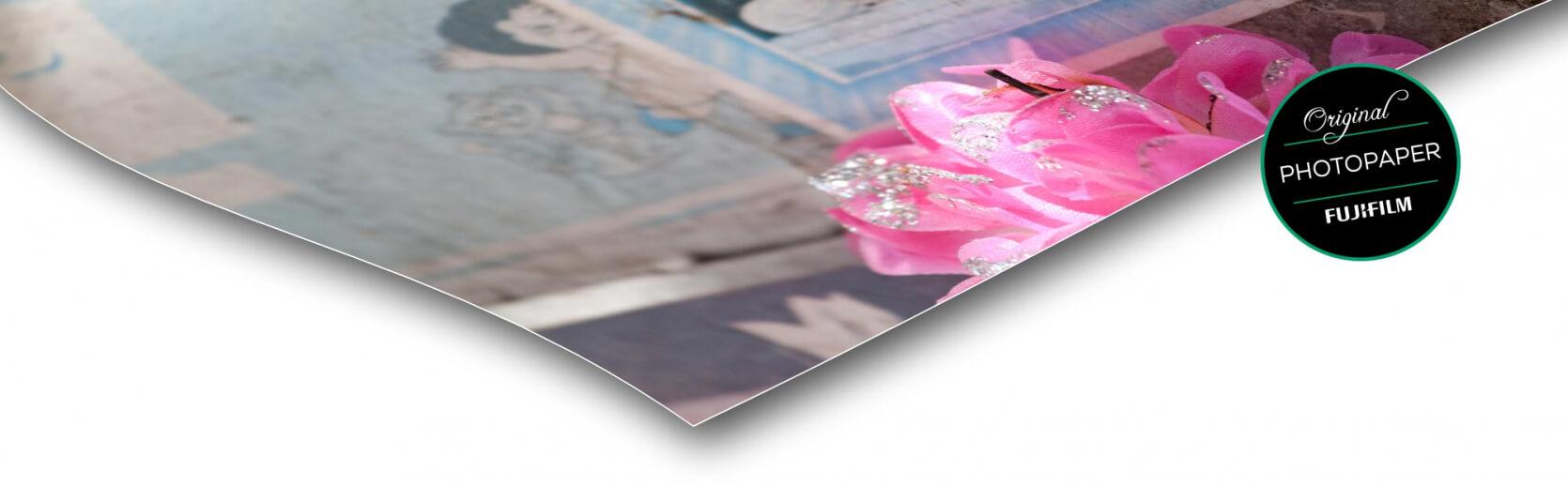 fotopapier foto op hout block mat